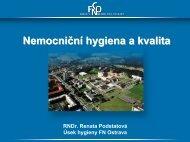 Nemocniční hygiena a kvalita - Fakultní nemocnice Ostrava