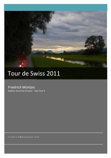 Tour de Swiss 2011 - Aarios