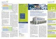 feedback Nr. 12 als PDF - agiplan ag
