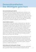 Demenz Demenz - Schweizerische Alzheimervereinigung - Seite 5
