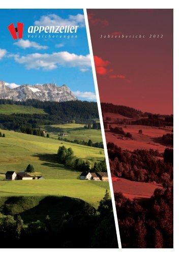 GEschäfTsbErichT 2012 - Appenzeller Versicherungen