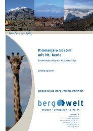Detailprogramm 2013 - Berg-Welt