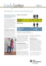 Heiratsstrafe - eine schöne Bescherung! 1/2013