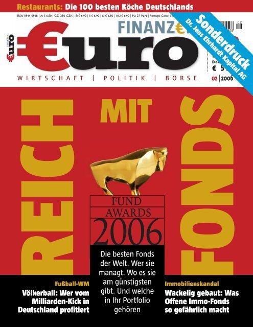 """""""Fondsmanager des Jahres 2006"""" (Sonderdruck ... - DJE Finanz AG"""