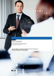 Controlling & Consulting - Fachhochschule Nordwestschweiz