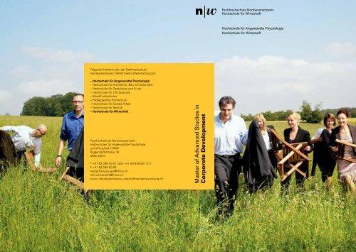 CoD Broschüre V5a.pdf - Fachhochschule Nordwestschweiz