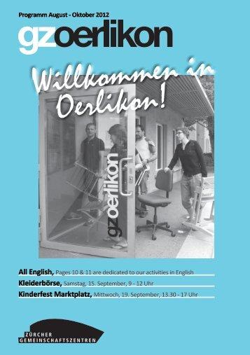 Willkommen in Oerlikon!