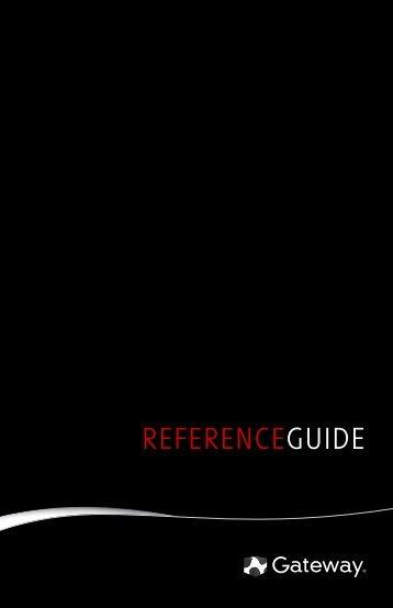 8512138 - Gateway nBTX Computer Reference Guide