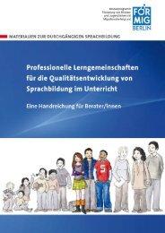 Professionelle Lerngemeinschaften (PLG) - FörMig Berlin