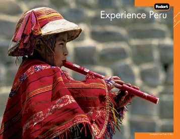 Experience Peru [2] Till 1st [1b] - Fodor's