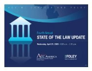 95% - Foley & Lardner LLP