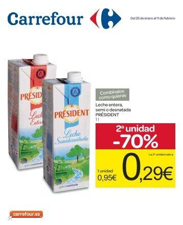 2a unidad -70% - Carrefour