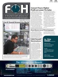 Download a PDF - FOH Online