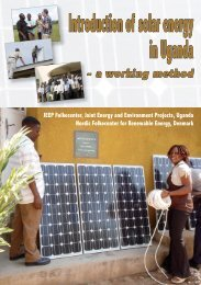 Introduction of solar energy in Uganda - Nordic Folkecenter for ...