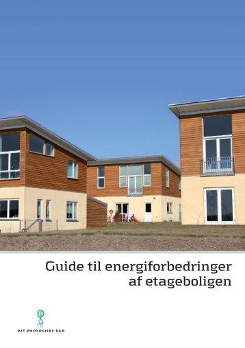 Guide til energiforbedringer af etageboligen