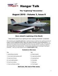 J-250/450 Experimental Aircraft - Jabiru Light Sport