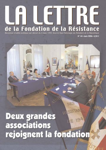 LettreResistance44 - Fondation de la Résistance
