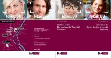 fokus: DU fokus: DU fokus: DU fokus: DU - Otto-von-Guericke ...