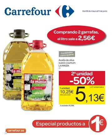 2a unidad -50% - Carrefour España