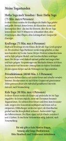 Yoga Folder - Seite 3