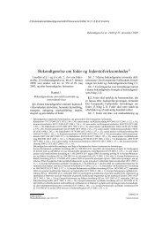 Bekendtgørelse om foder og foderstofvirksomheder1)