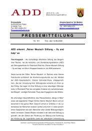 pm 101-09-08-13 Reiner Meutsch Stiftung - Fly & Help