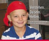 Festschrift - Förderkreis für krebskranke Kinder und Jugendliche ...