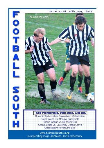 Vol.14, no.15, 30th, June, 2012 - Football South