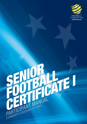PARTICIPANT MANUAL - Football Federation Victoria
