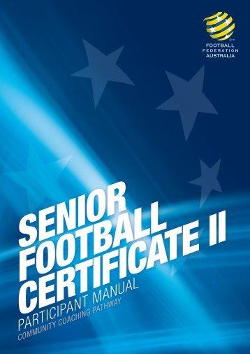 participant manual football federation victoria rh yumpu com Red Cross CPR Manual Participant Manual Template