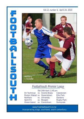 24th April 2010 - Football South