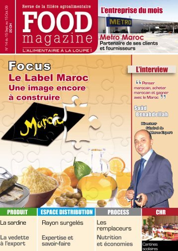 Le Label Maroc - FOOD MAGAZINE