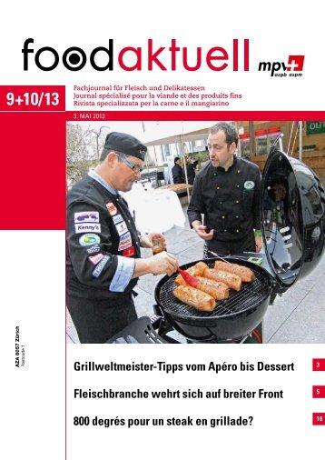 Fleischbranche wehrt sich auf breiter Front 800 ... - Foodaktuell.ch