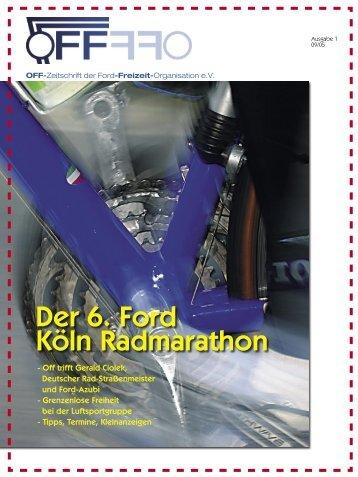 Ausgabe 1, 09/ 2005 - Ford-Segel-Club Köln