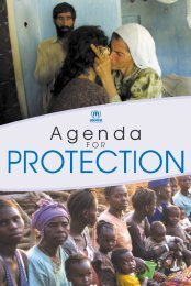 Agenda for Protection - Forced Migration Online