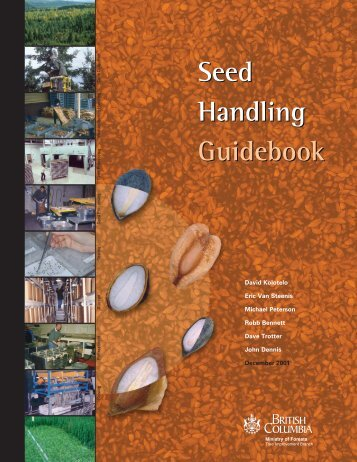 Seed Handling Guidebook - Ministry of Forests