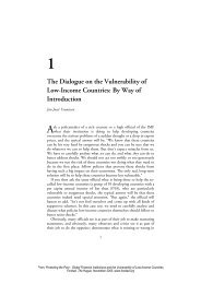 1 The Dialogue on the Vulnerability of Low-Income Countries