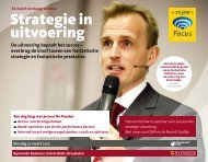 Strategie in uitvoering - Focus Conferences