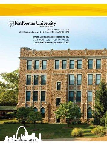 St. Louis, Missouri · U.S.A. - Fontbonne University