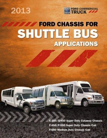 Shuttle Bus Brochure - Ford
