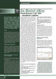 Technologie - Ford Escort Fans