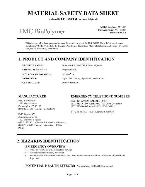 Fmc b 401