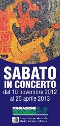 Sabato in Concerto - Fondazione Pescarabruzzo