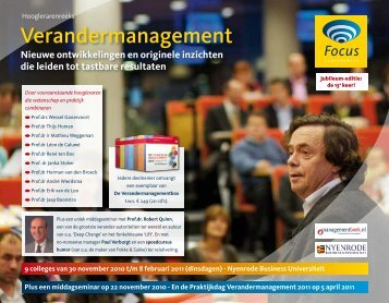 Verandermanagement - Focus Conferences