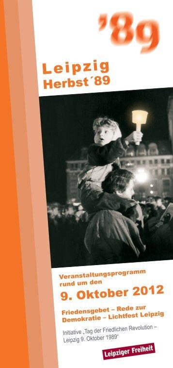 Download - Programmheft 2012 - Herbst 1989 ... - Leipziger Freiheit