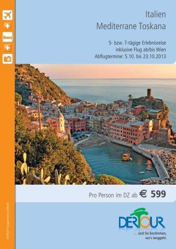 Toskana Gruppenreise