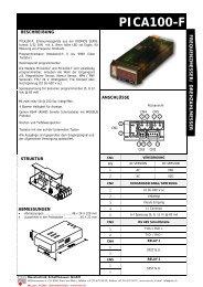 PICA100-F_DE [PDF, 371 KB] - MTS Messtechnik Schaffhausen ...