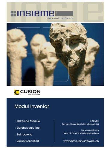 Modul Inventar - Curion Informatik AG