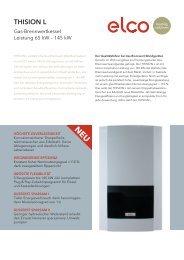 THISION L – Gas-Brennwertkessel – Leistung 65–145 kW