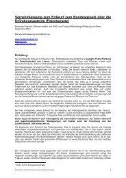 Entwurf zur Diskussion am 19 - Erklärung von Bern